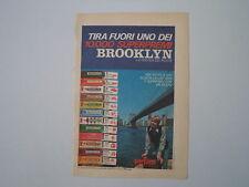 advertising Pubblicità 1972 GOMMA CHEWING GUM BROOKLYN PERFETTI