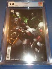 Suicide Squad #49 Mattina Variant Harley Quin CGC 9.8 NM/M Gorgeous Gem Wow