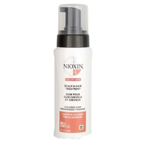 Nioxin System 4 Scalp Treatment for Colored Hair Progressed Thinning  6.8oz