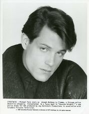 MICHAEL PARE HUNKY PORTRAIT HOUSTON KNIGHTS ORIGINAL 1987 CBS TV PHOTO