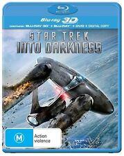Star Trek - Into Darkness 3D (Blu-ray, 2013)