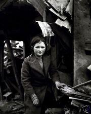 LONDON BATTERSEA BOMBING INCIDENT 8X10 PHOTO WWII 1945