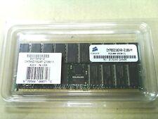 New Corsair 1GB 184 PIN PC2100 266MHz ECC DDR Server Memory CM78SD1024R-2100/Y