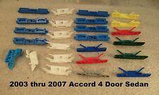 4 Door Honda Accord Front Windshield Trim Molding Plastic Window Glass Clip 2005