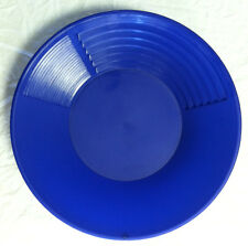 10 Inch 3 Stage Blue Gold Pan extra riffles 4 fine gold