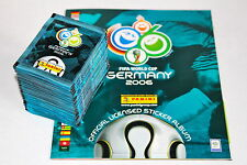 PANINI sticker WC WM GERMANY 2006 06 – 100 cartocci packets BUSTINE sobres + ALBUM