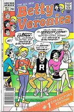 Betty and Veronica #1, June 1987, 75¢, Dan DeCarlo cover and interior
