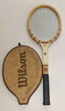Vintage Wilson Jack Kramer Autograph Wooden Tennis Racquet 4 1/2 Grip