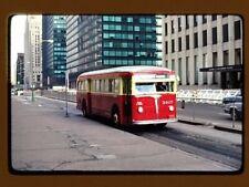 Original Slide Bus, Chicago Cta/Csl 3407 Kodachrome 1982