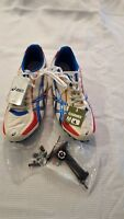 Asics Men Hyper MD Track & Field Shoes - Size 12  - White/Blue/Red - G901N NWT