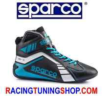 SCARPE KART SPARCO SCORPION BLACK/BLUE EU 41 KARTING BOOTS SHOES - SCHUHE KART