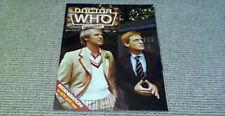 DOCTOR WHO MONTHLY No 77 MARVEL COMICS 1983 Peter Davison Mark Strickson Daleks