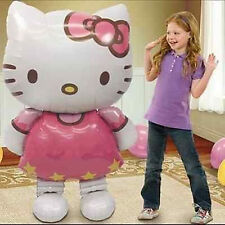 "Hello Kitty Helium Foil Balloon 46"" BIG HUGE GIANT 115cmX66cm kids Party Gift"