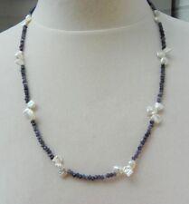 Collar de joyería con gemas ágata