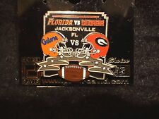 PETER DAVID GEORGIA BULLDOGS DAWGS vs FLORIDA GATORS SEC RIVALRY PIN~NEW CARDED