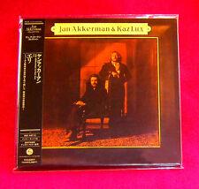 Jan Akkerman & Kaz Lux Eli JAPAN MINI LP CD  POCE-1115