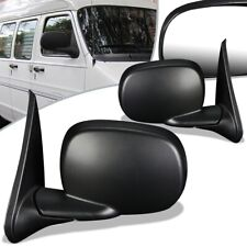 Fit 99-03 Dodge Ram 1500 2500 Van Pair Powered Door Mirror CH1320195 CH1321195