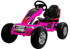 Kinder Elektro Go Kart Ford Ranger pink Elektrisches Kinderfahrzeug Kinderauto