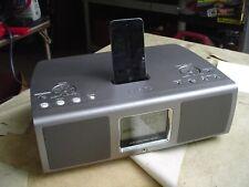 TEAC GR-10 iPod AM/FM Clock Radio w Digital Display