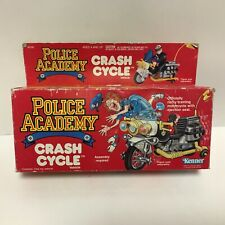 Police Academy CRASH MOTORCYCLE cycle mib  kenner vintage Animated Series