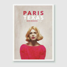 Paris, Texas - Wim Wenders - Contemporary A3 Art Print / Poster