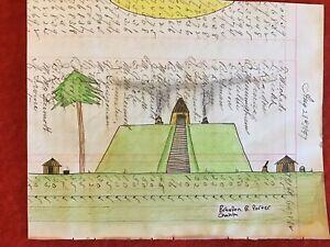 Native American Choctaw Ledger Art
