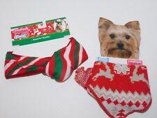 Fetchwear Unisex Pet Dog Christmas Scarf Neckwear X-small / Small Ship