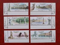 Postage stamps Russia 2003 3 Centennial St. Petersburg 3 Series 6802-7 MNH