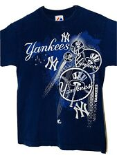 New York YANKEES Navy T-Shirt Size Small