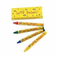 CrayonKing wholesale, restaurant 4 pack Crayons in box (500 packs per case)