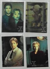 Tradingcards - The X-Files Sondercard Set Season 1 - Topps Finest Set von 1995