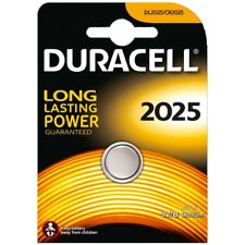 1X DURACELL CR2025 DL2025 BR2025 3V LITHIUM COIN CELL BUTTON BATTERY FREE P&P