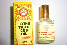 FLYING TIGER CUB OIL - 10 ML  Quick relief for cold ,headaches  & muscle Pain