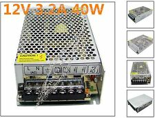 12V 3.2A LED Driver 40W Lighting Transformer Power AC 110V/220V