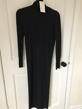 Zara Limited Edition Merino Wool Dress Small New With Tags
