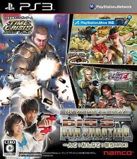 BIG 3 GUN SHOOTING PS3 Namco Sony PlayStation 3 From Japan