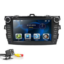 For Toyota Corolla 2007-2011 Car Headunit Dash Stereo GPS DVD Player Touch Radio