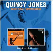 Bossa Nova/Quintessence - Quincy Jones (2014, CD NIEUW)2 DISC SET