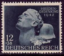 THIRD REICH 1942 mint never hinged National Hero Day stamp!