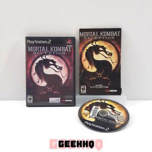 Mortal Kombat Deception • Playstation 2 [PS2] COMPLETE