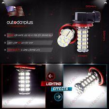 2X Xenon White H8 H11 68-SMD Fog/Driving Car Head light DRL LED Bulbs Lamp 12V