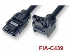 """39"""" SATA-III Round Cable w/ Straight to 270° Connectors"""