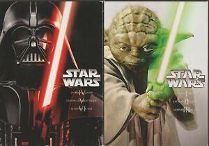 Star Wars 1 à 6 Dvd 2 Coffrets De Trilogie I II III IV V VI Guerre Des Etoiles