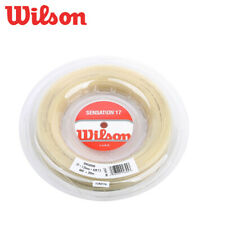 Wilson SENSATION 17 1.25 mm Natural 200m 16gauge Tennis String Reel WRZ9091NA
