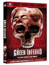 THE GREEN INFERNO  LTD UNCUT VERSION   DVD+BOOKLET