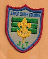 "JUNIOR LEADER TRAINING JLT  BOY SCOUT PATCH 3"""