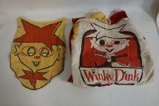 1950s Vintage Winky Dink Halloween Costume Complete #Af67