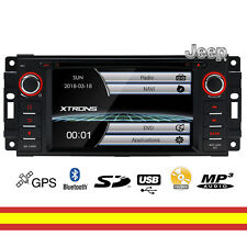 Radio CD para JEEP DVD GPS Bluetooth MP3 USB SD Canbus Soporta Camara trasera