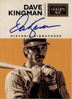 2014 Panini Golden Age Historic Signatures #KNG Dave Kingman Auto - NM-MT