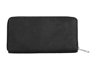 CAPRIUM Geldbörse weiche Vintage einfarbig Portemonnaie Damen lang 00055007